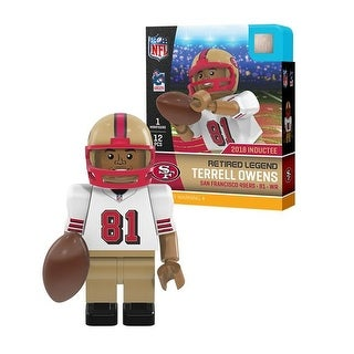 Terrell Owens Retired Legend San Francisco 49ers NFL Minifigures &