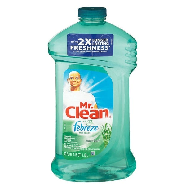 Mr. Clean 16352 Multi-Purpose Cleaner With Febreze, Meadows&Rain