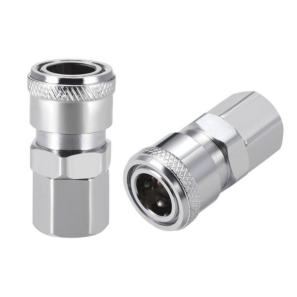 "Quick Coupler,1/4""Socket x1/4"" G Female Pressure Washer Adapter Air Fitting 2pcs - 1/4"" G Socket 2pcs"