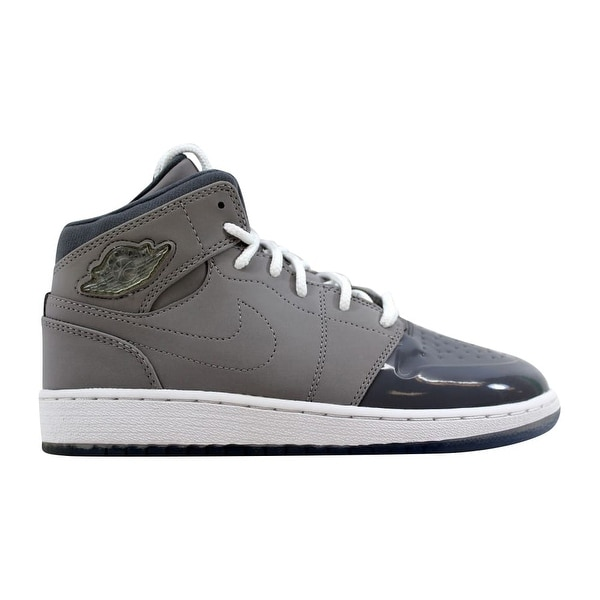 best website 7de14 ab8df Nike Air Jordan I 1 Retro   x27 95 Medium Grey White-
