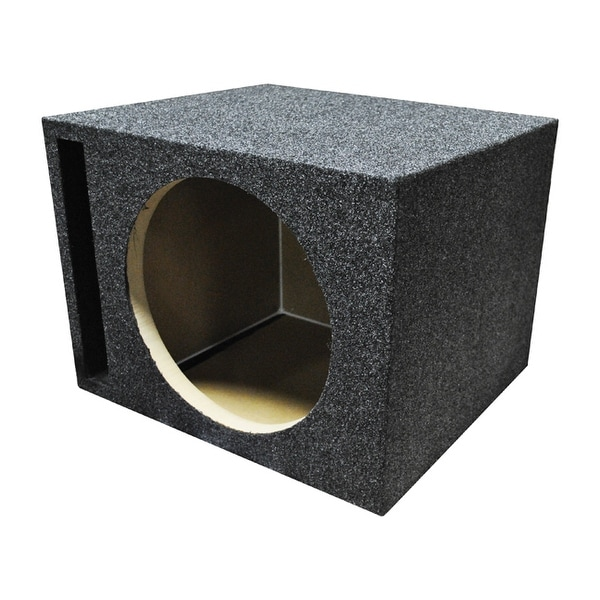 """Qpower Single 12"""" Vented Woofer Box"""