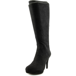 Adrienne Vittadini Premiere   Round Toe Synthetic  Knee High Boot