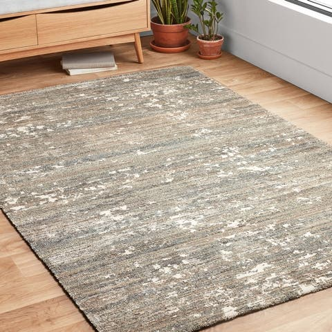 Alexander Home Zion Stone Abstract Modern & Contemporary Rug