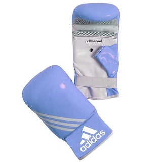 Adidas Fitness Bag Gloves - Blue/White
