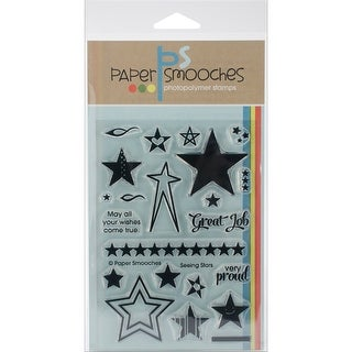 "Paper Smooches Clear Stamps 4""X6"" -Seeing Stars"