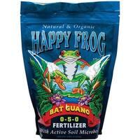 FoxFarm FX14056 Happy Frog Bat Guano Fertilizer, 4 Lbs
