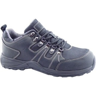 Drew Men's Canyon Waterproof Hiker Black Leather