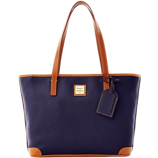 Dooney & Bourke Pebble Grain Charleston (Introduced by Dooney & Bourke at $198 in Oct 2012) - Midnight Blue