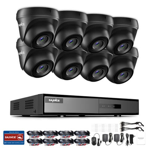 SANNCE 8CH 1080p Security Camera System