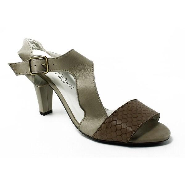 73b0c2797ec Shop Eric Michael Womens Havana-270 Taupe Sandals Size 10 - Free ...
