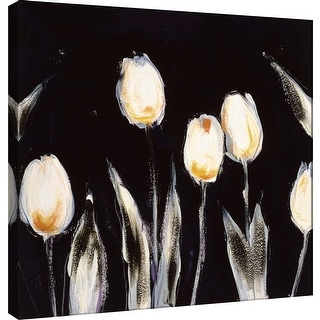 "PTM Images 9-100007  PTM Canvas Collection 12"" x 12"" - ""Succulent Tulips"" Giclee Flowers Art Print on Canvas"