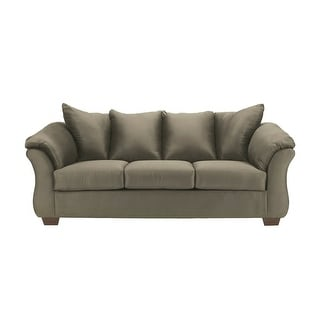 Offex Signature Design by Ashley Darcy Sofa in Sage Fabric [OF-FSD-1109SO-SAG-GG]