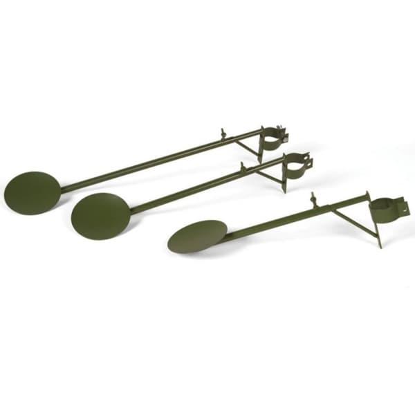 "Set of 3 Green Adjustable Christmas Tree Display Arms with Hardware 31"""
