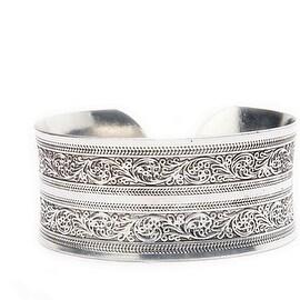 Designer Maya Tribal Cuff Bracelet