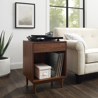 "Liam Record Storage End Table - 25.5""H x 20""W x 15.75""D"