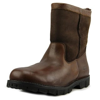 Ugg Australia M Beacon Men Round Toe Leather Brown Winter Boot