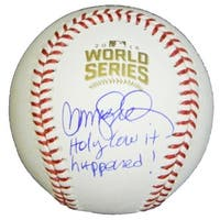 Ryne Sandberg Signed Rawlings Official 2016 World Series Baseball