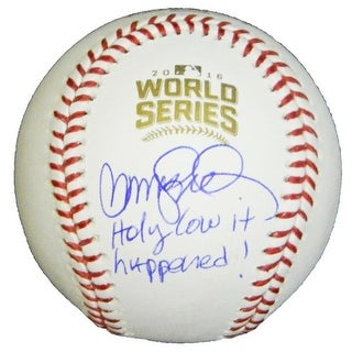 Ryne Sandberg Signed Rawlings Official 2016 World Series Baseball