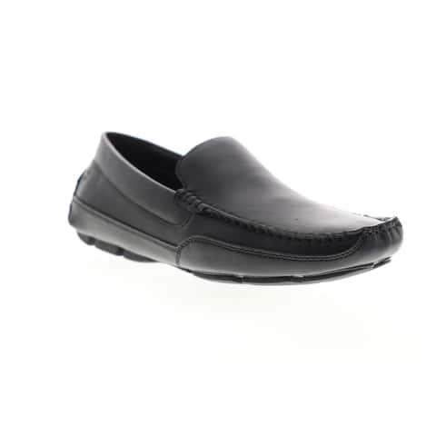 Izod Burney Black Mens Loafers & Slip Ons Casual