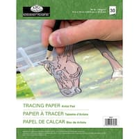 "Essentials Tracing Artist Paper Pad 9""X12""-30 Sheets"