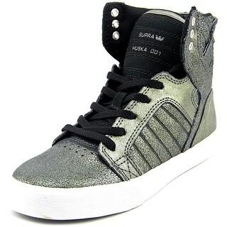 Supra Skytop Boy Pewter/Black-White Athletic Shoes