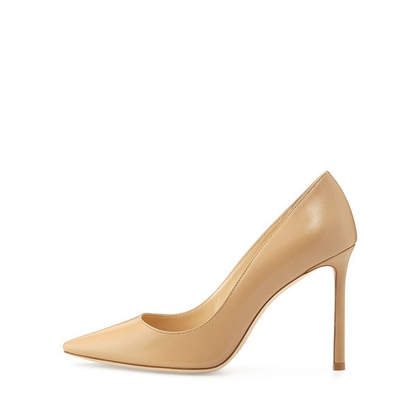 Jimmy Choo Womens Romy 100 Pointed - Toe Pumps in Pink - Lyst