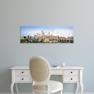 Easy Art Prints Panoramic Images's 'Buildings in a city, San Gimignano, Tuscany, Italy' Premium Canvas Art