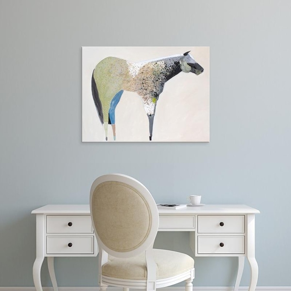Easy Art Prints Anthony Grant's 'Horse No. 33' Premium Canvas Art