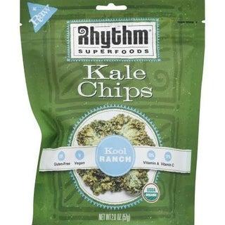 Rhythm Superfoods - Original Kale Chips ( 12 - 2 oz bags)