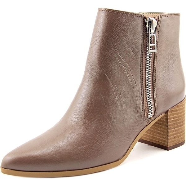 Charles By Charles David Uma Women Pointed Toe Leather Brown Ankle Boot