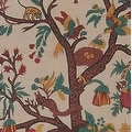 Handmade 100% Cotton Tree of Life Tapestry Tablecloth Bedspread Coverlet Beach Sheet Tan Twin Full Queen & King - Thumbnail 2