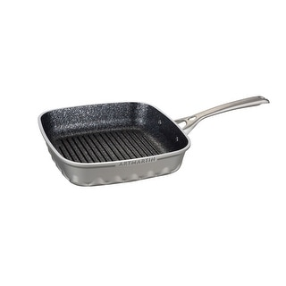 ARTMARTIN Non-Stick Grill Frying Pan Ceramic Coated Skillet - 10x10in