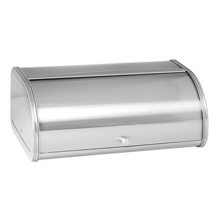 Anchor Hocking 98949 Brushed Steel Bread Box With Fingerprint-Free Finish