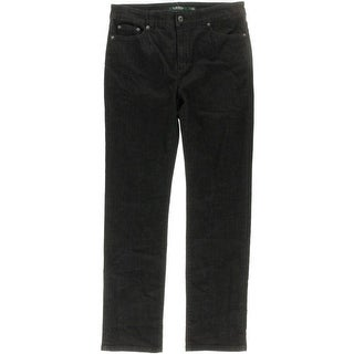 Lauren Ralph Lauren Womens Straight Leg Jeans Denim Slimming