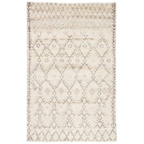 Tashi Hand-Knotted Trellis Area Rug