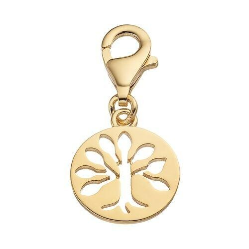 Julieta Jewelry Tree Of Life Gold Sterling Silver Charm