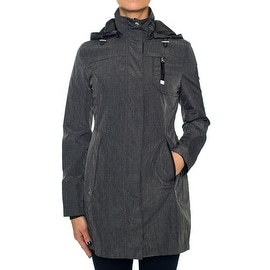 Laundry By Design Fitted Zip Parka with Hood