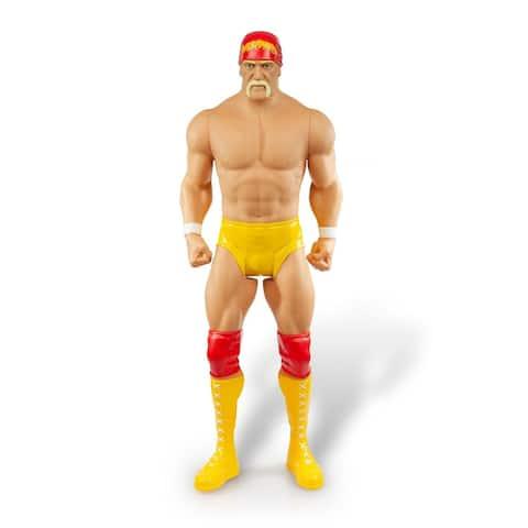 "WWE Hulk Hogan Action Figure Giant Sized Wrestler Great for Kids 31"" Tall - Multi"