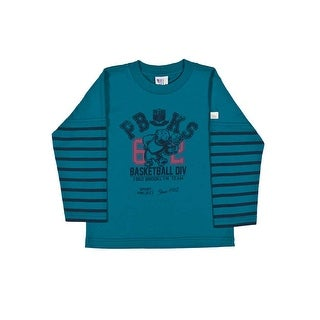 Toddler Boy Long Sleeve Shirt Little Boy Graphic Tee Pulla Bulla Sizes 1-3 Years