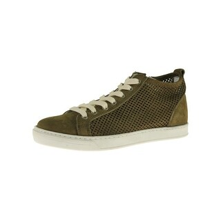 Steve Madden Womens Brandel Fashion Sneakers Suede Lace Up