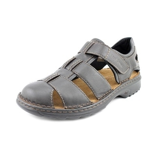 Josef Seibel Jeremy Men Round Toe Leather Fisherman Sandal