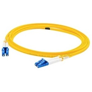 AddOn ADD-LC-LC-25M9SMF AddOn 25m Single-Mode Fiber (SMF) Duplex LC/LC OS1 Yellow Patch Cable - 100% application tested and