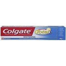 Colgate Total Fluoride Toothpaste, Whitening 7.80 oz