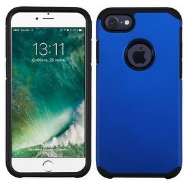 Insten Hard PC/ Silicone Dual Layer Hybrid Rubberized Matte Case Cover For Apple iPhone 7