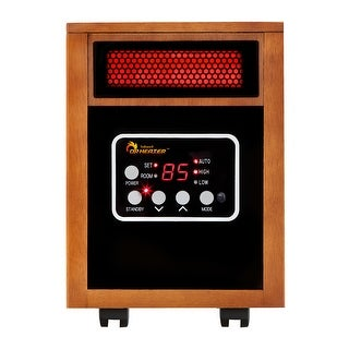 Dr. Infrared Heater DR-968 Portable Infrared Space Heater - Cherry