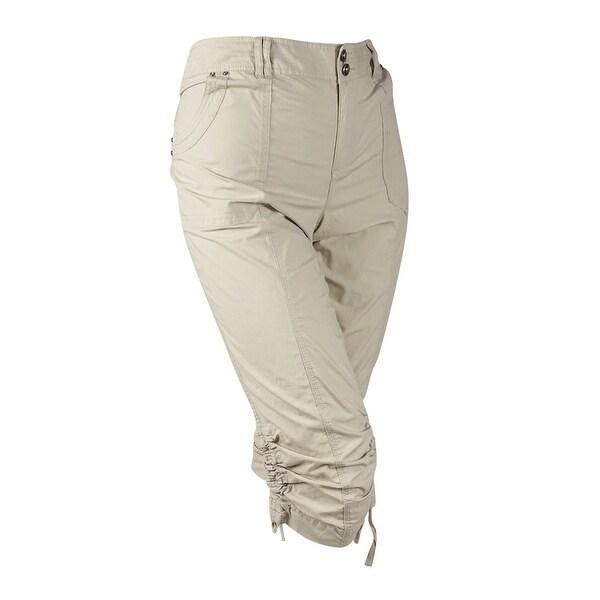 9f05498bdc4d1 Shop Inc International Concepts Plus Size Ruched Cargo Pants ( 14W ...