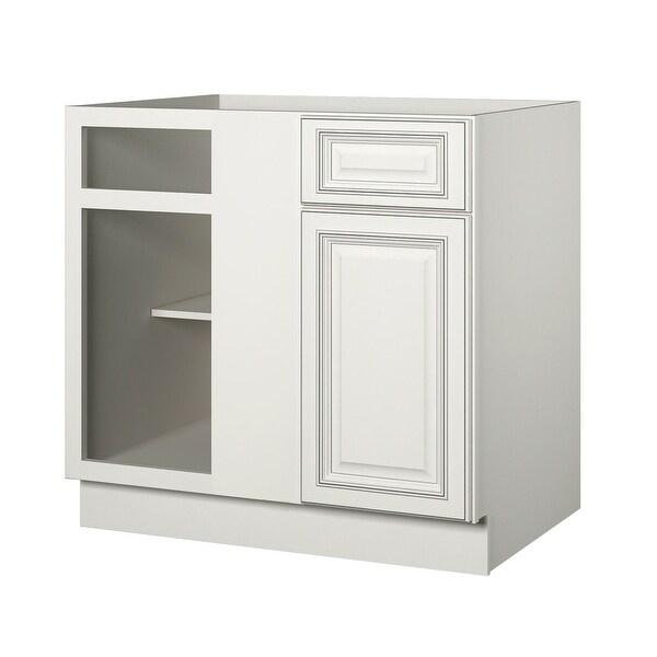 "Sunnywood Kitchen Cabinets: Shop Sunny Wood SLB42BC-A Sanibel 42"" Blind Corner Base"