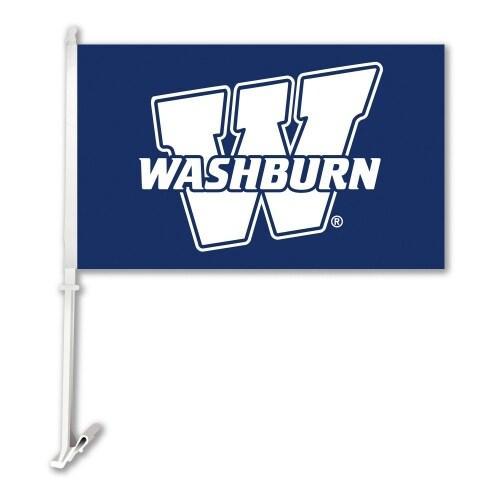 Bsi Products Inc Washburn Ichabods Car Flag With Wall Brackett Car Flag