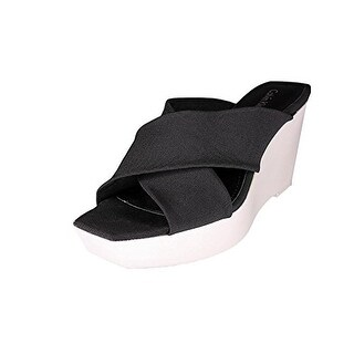 Calvin Klein Women Shyna Wedge Shoes