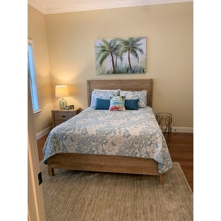 Grain Wood Furniture Montauk Solid Wood 2-drawer Nightstand